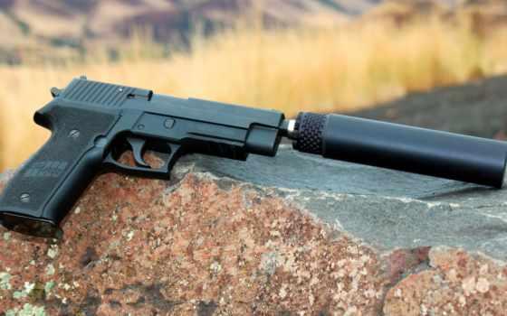огнестрельное, оружие