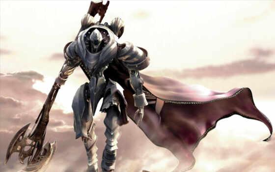 online, rf, mmo, воин, робот, топор, игры, картинка, прикол, game,