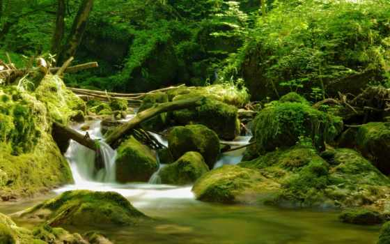 waterfalls, desktop, также