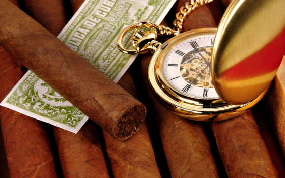 sigara, сигары, часы