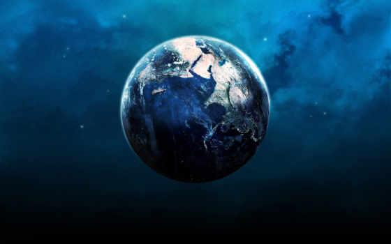 planet, earth, ночь