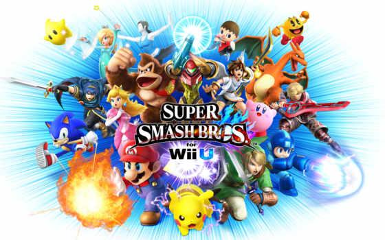 супер, bros, smash, wii, nintendo, characters, характер, are, который,