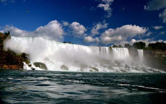 falls, niagara, pictures, водопад, desktop,