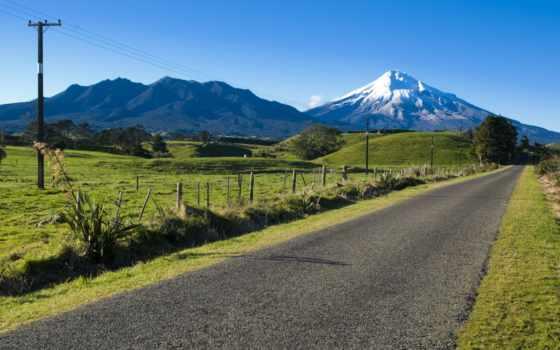 дорога, горы, обои,