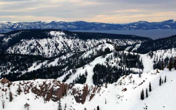 елки, горы