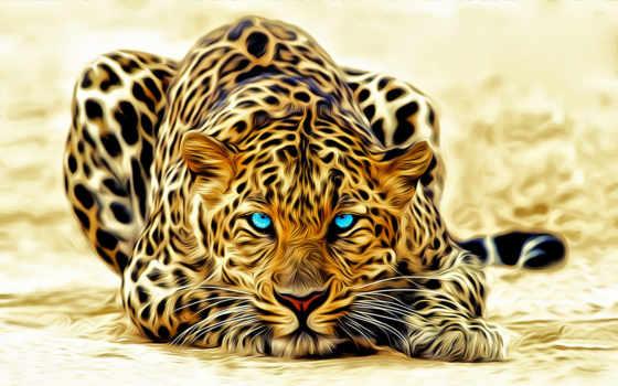 zhivotnye, леопард, jaguar