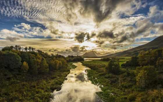 острова, norwegian, лофотенские, lofoten, небо, oblaka, flickr, озеро, пейзажи -,