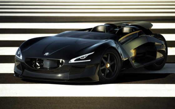 peugeot, авто, concept, спорткар,