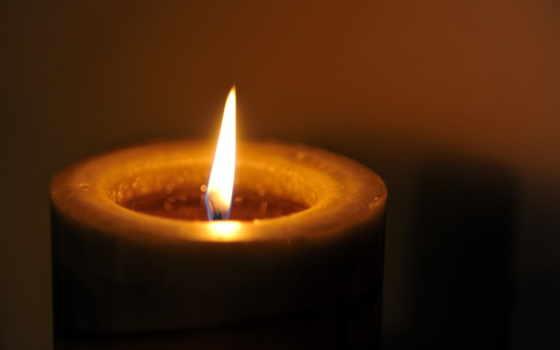 свеча, макро, дек, black, зелёный,