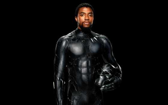 panther, черная, фильма, роли, promo, боузман, chadwick, пантеры, marvel,