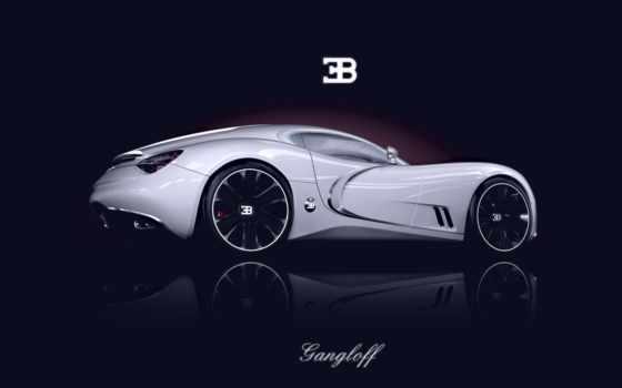 bugatti, gangloff, concept, суперкар, car, авто,