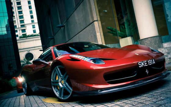 ferrari, italia, car