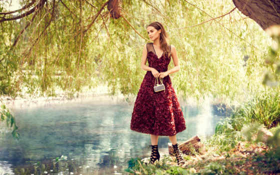 vogue, фотосессия, vikander, alicia, природа, модель, река, декабрь,