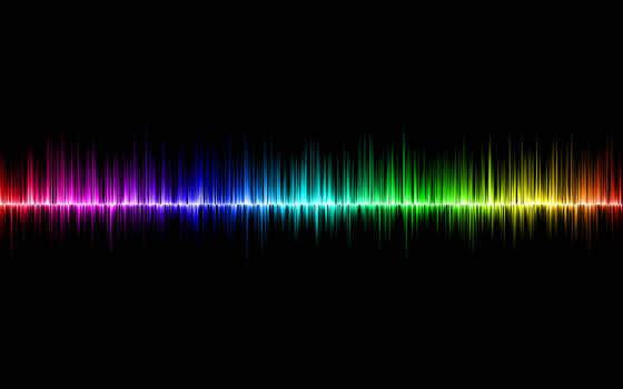 themes, motsai, chrome, спектр, линии, волны,