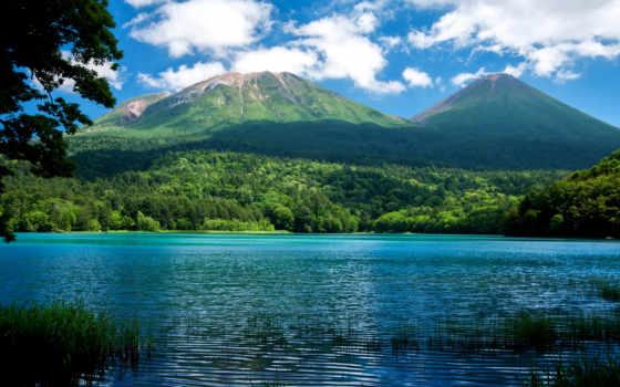 природа, горы, collector, озеро, landscapes, картинку,