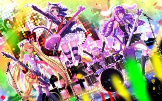 rock, показать, anime, девушка