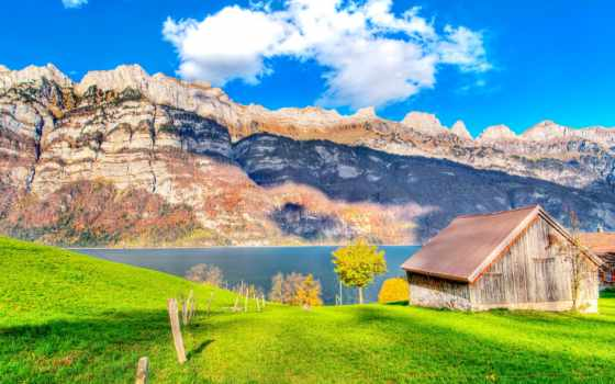 house, озера, озеро