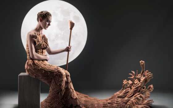 платье, hands, луна, изображение, free, made, фото, desktop,