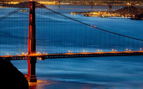 мост, gate, золотистый, usa, sana, золотые, francisco,