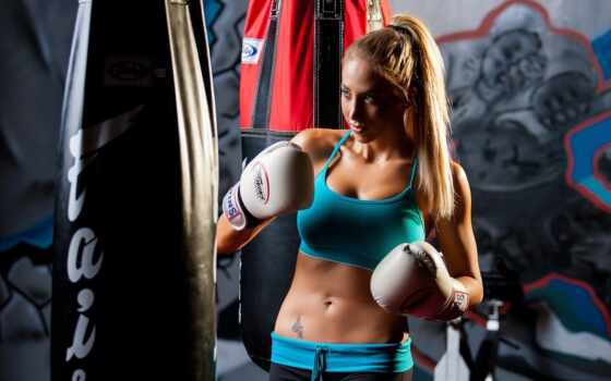 box, девушка, punch, sports, мешок, женщина, категория, бой, sexy, перчатка, поезд
