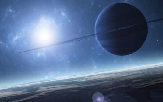 космос, монитора, уклоном, космическим, sun, light, планета, солнца, свете,