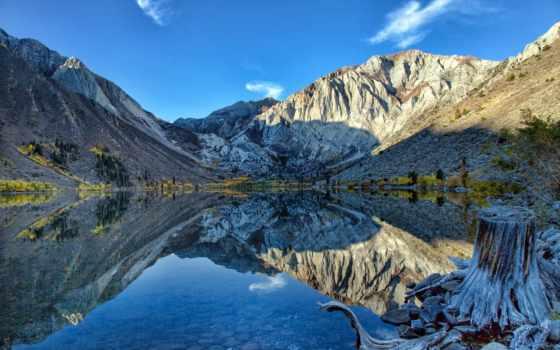 озеро, ir, картинка