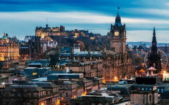 эдинбург, шотландия,