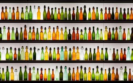 bar, бутылки, напитки