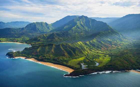 hawaii, kauai, soo, anthony, isle, garden, wnderlst, this, more, aerial,