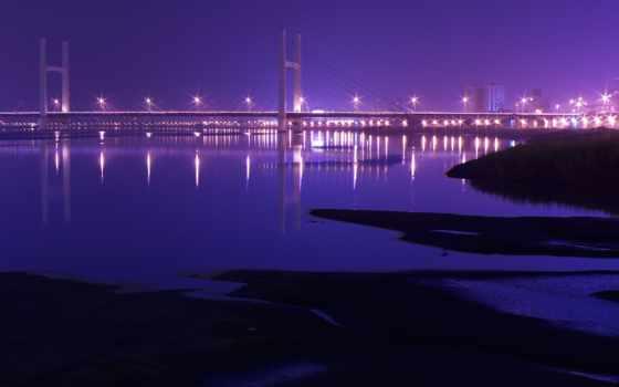 природа, мост, река, заставки, город, дома, smartphone, красивые, города,
