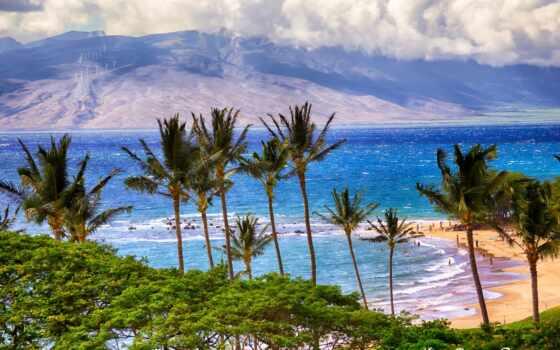 природа, ipad, galaxy, нота, горы, красивые, android, качества, высокого, пальмы, море,
