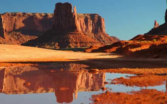 каньон, озеро, скалы