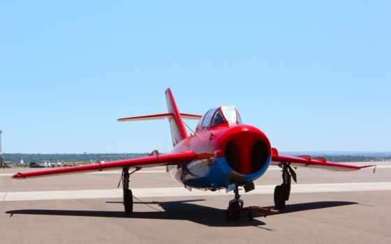 миг, mig, фреска, авиация, истребитель, самолеты, реактивный, истребители, рисованные, red,