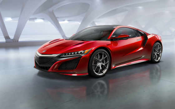 nsx, суперкар, acura, honda, авто, car, cars, new, супер,