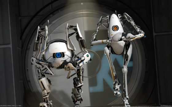 портал, valve, игры, игр, прохождение, роботы, robots,