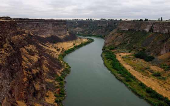 каньон, скалы, река, природа, wallpaper, картинка, hd,