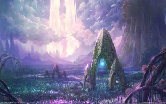 aion, eternity, башня, art,