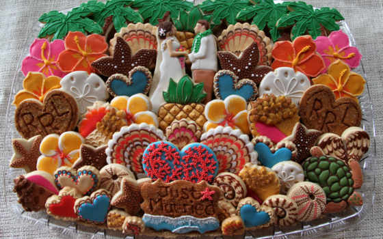 еда, cookie, torte, tapety, фрукты, ягоды, design, sacher, картинка,