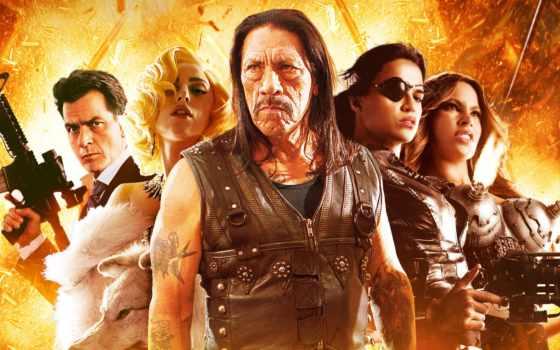machete, дэнни, сниматься, trejo, кинотеатр, kills, londres, lady, movie,