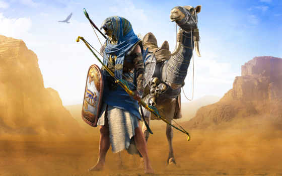 assassin, creed, origins, множество, pack, horus, гор, ubisoft,