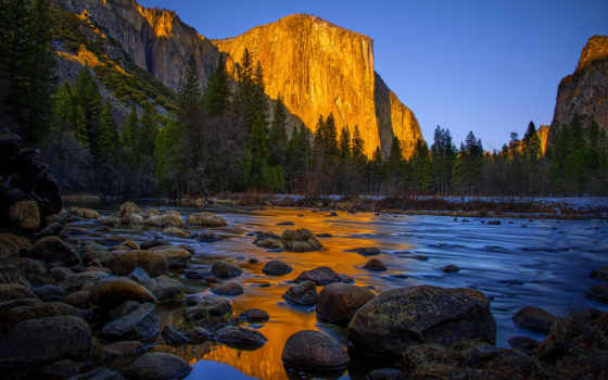 река, природа, гора, park, yosemite, national, california, sierra, nevada, landscape,