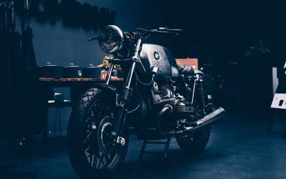 мотоцикл, smartphone, ретро, bmw