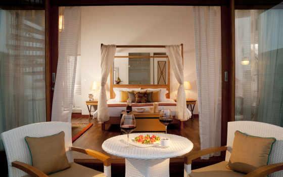 кресла, бокалы, интерьер, канапе, вино, интерьеры, комната, красное, свечи, красивые, yatak, подушки, bed, odası,