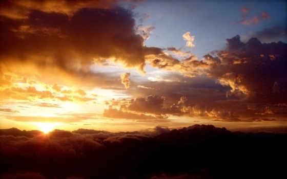 oblaka, full, небо
