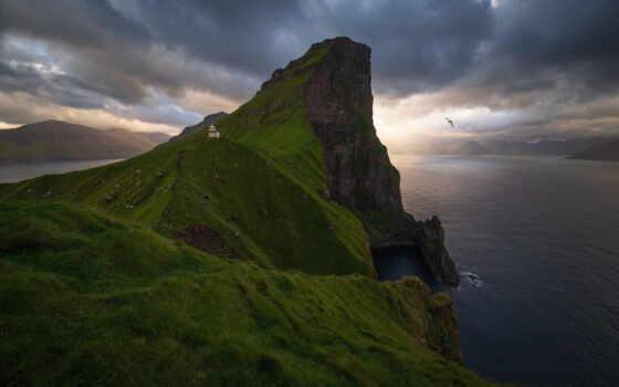 остров, take, landscape, much