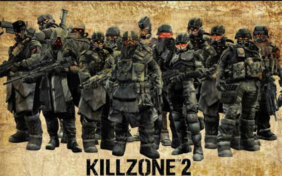 killzone, персонажи