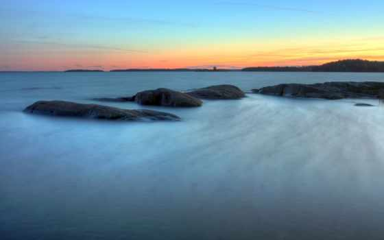 long, exposure, море, спокойствие, лет, ago, со,