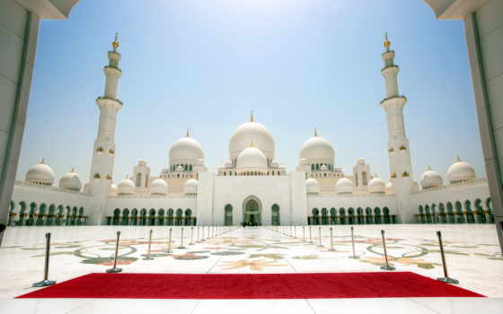 mosque, dhabi, шейха