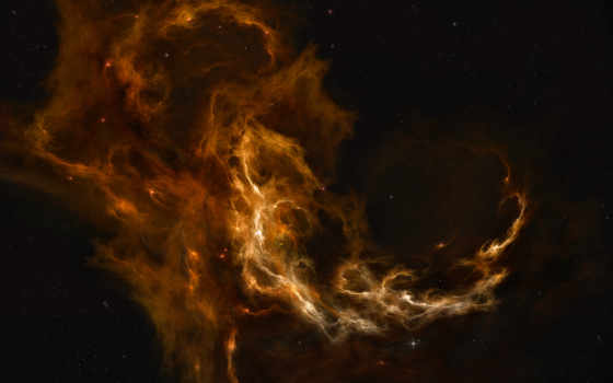 nebulae, space