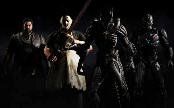 kombat, mortal, leatherface